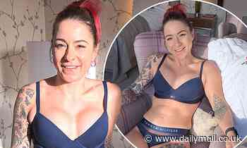 Lucy Spraggan shows off results of boob job after weight loss