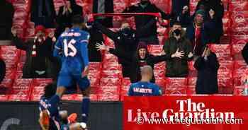 Europa League: Rangers and Spurs through, Arsenal thrash Rapid Vienna – live!