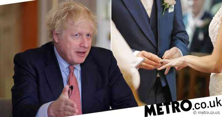 Couples can start planning their weddings for next summer, Boris says