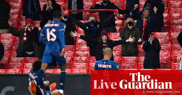 Europa League: Rangers and Spurs through, Arsenal thrash Rapid Vienna – as it happened