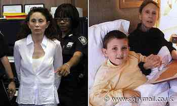 Drug company exec convicted of poisoning her autistic son to be freed