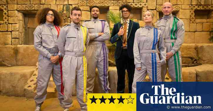 Celebrity Crystal Maze review - rollicking fun with Richard Ayoade