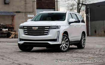 Cadillac Escalade 2021: un rêve sans frontière