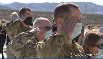 Nevada National Guardsmen To Remain On Duty For COVID-19 Response Until March 2021