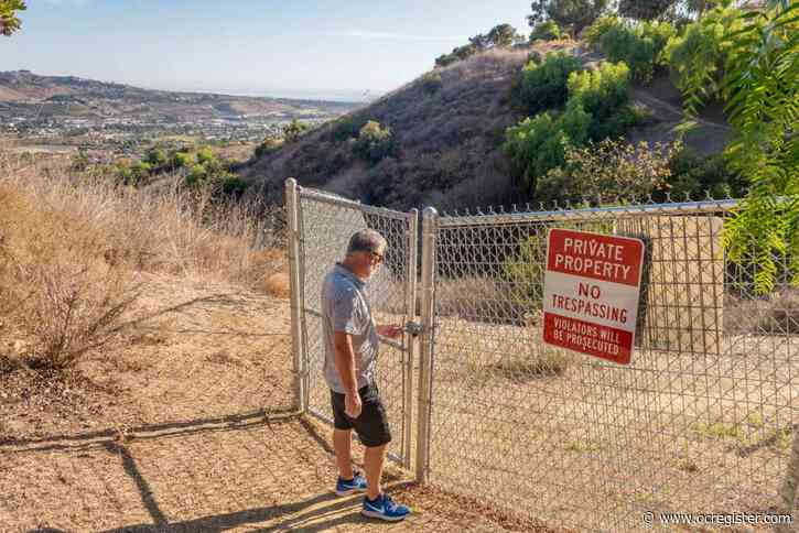Homeowners targeted for blocking popular oceanview trail in Laguna Niguel
