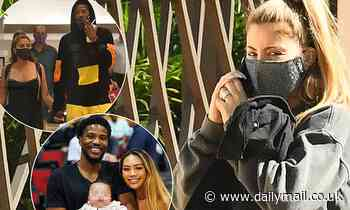 Larsa Pippen arrives home to face the music after Malik Beasley's wife 'files for divorce'