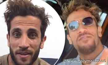 Firass Dirani looks almost unrecognisable as he debuts his new lighter hair transformation
