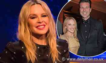 Kylie Minogue says her beau won over her granny by learning some Welsh
