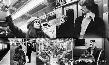 Incredible photographs show New York City's subway and straphangers in the 1970s