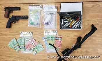 Two-vehicle collision in Bonfield leads to $70K drug seizure, 3 locals charged - NorthBayNipissing.com