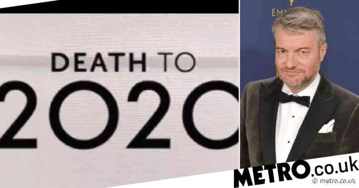 Black Mirror creator Charlie Brooker drops teaser for 'new episode' Death To 2020