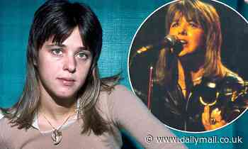 You'll NEVER guess what Suzi Quatro looks like now