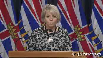 B.C. report 694 new COVID-19 cases, 12 additional deaths