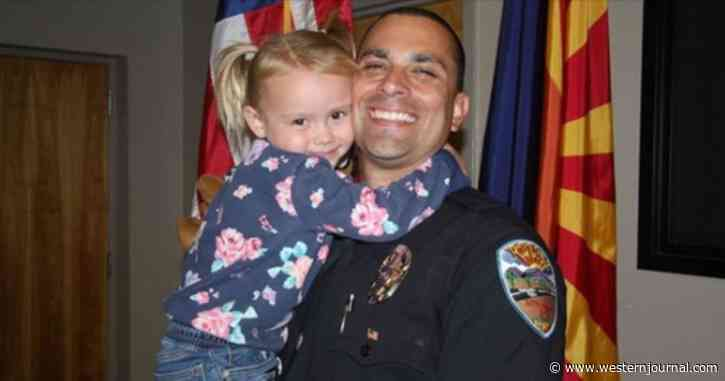Heartwarming: Police Officer Adopts Little Girl He Helped Save from Abusive Home