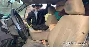 B.C. senior, 77, living in his pickup truck; calls it humbling but remains optimistic
