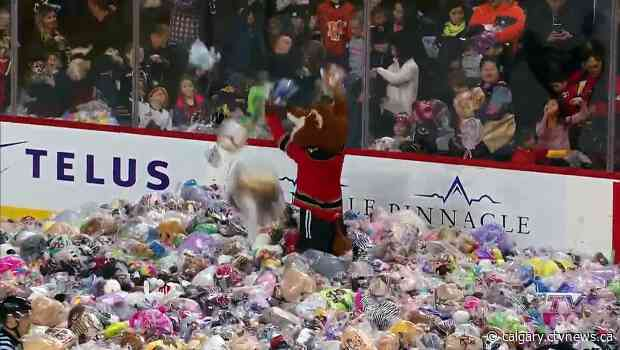 From the ice to Teddy Bear Lane: Hitmen find another way to collect stuffed animals for needy children