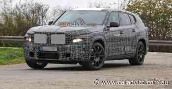 2022 BMW X8 spy photos