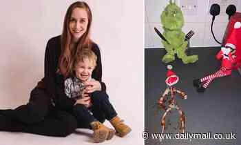 Mother pretends the Elf on the Shelf has been KILLED and EATEN in prank