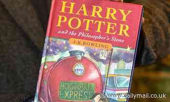 Harry Potter book expected to fetch £50k at auction after owner almost sold in car boot sale for 50p