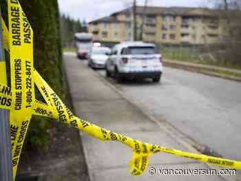 Dead woman with gunshot wound found inside Surrey vehicle
