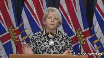 Dr. Bonnie Henry on adult-only amateur team sports public health order