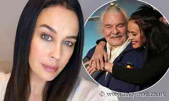 Megan Gale pays tribute to Mad Max: Fury Road co-star Hugh Keays-Byrne
