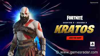 Fortnite's God of War Kratos skin is available now