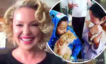 Katherine Heigl explains how she discusses racism and racial injustice with her children