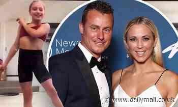 Bec and Lleyton Hewitt's daughter Ava shows off her impressive ballet routine