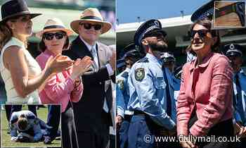 Gladys Berejiklian wears Gucci at police 'Classes of 2020' Attestation Parade