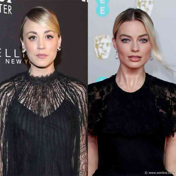 Kaley Cuoco Sounds Off on Margot Robbie Feud Rumors Over Harley Quinn - E! NEWS