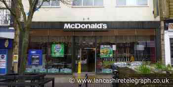 Thug knocked out woman by smashing bottle over her head outside McDonald's