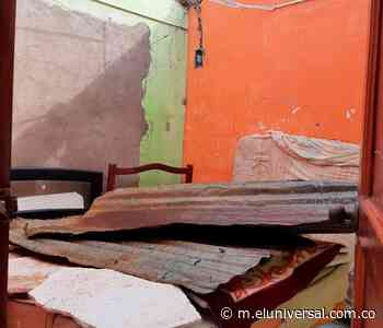 Fuerte vendaval azotó a Barranco de Loba - El Universal - Colombia