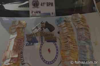 Candidato a vereador é preso em Aparecida após flagrante de tráfico - Folha Z