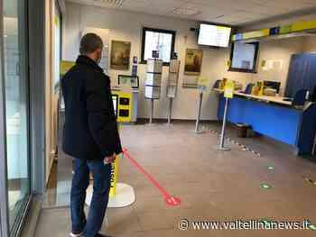 Cosio Valtellino, all'Ufficio Postale attivato sistema prenotazioni operazioni - Valtellina News