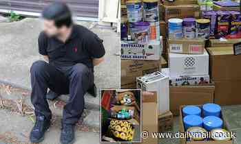 Stolen baby formula, vitamins and toothpaste worth $80,000 found in warehouse