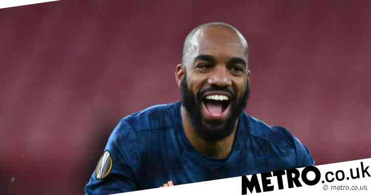 Mikel Arteta rates Alexandre Lacazette performance in new position vs Rapid Vienna