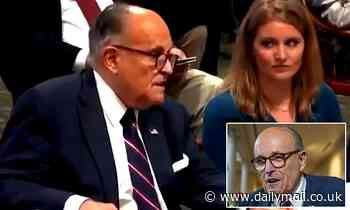 Farting sound is heard twice during Rudy Giuliani's voter fraud hearing in Michigan