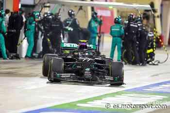 ¿Por qué Mercedes solo cambió tres neumáticos a Bottas en Bahrein? - Motorsport.com, Edición: España