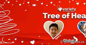 Global BC supports Variety Tree of Hearts