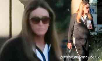 Caitlyn Jenner shows off sporty look in sweatsuit during coffee run after shooting round of golf