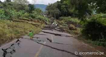 Amazonas: así quedaron las vías en Cajaruro, la zona afectada por deslizamientos | FOTOS - El Comercio - Perú