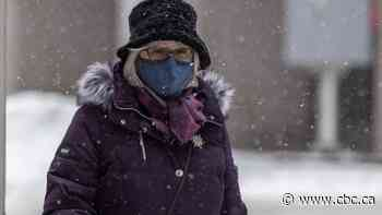 Cold weather brings wet masks and other pandemic-related challenges