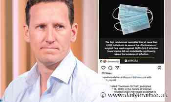 Brendan Cole slammed for suggesting face masks do not protect against Covid