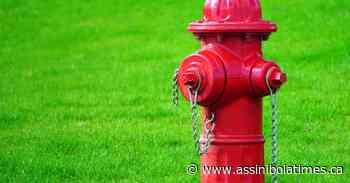 Fire hydrant damage in Rockglen - Assiniboia Times