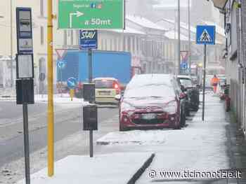 ++Neve su Magenta e Magentino, mezzi in azione - Ticino Notizie