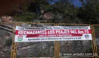 Peaje en Tona pone en aprietos a comunidad de Santurbán - W Radio