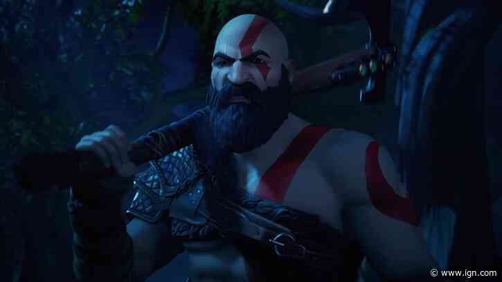 God of War Kratos Skin Available Now in Fortnite