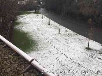 Lancashire: First snow showers of winter and  more could follow