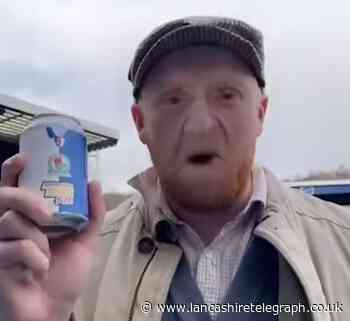 Viral sensation 'Grandad' shows off skills to bowl over Blackburn Rovers fans with new craft beers